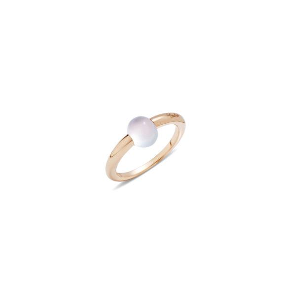 Pomellato M´ama non m´ama Ring aus Rosegold mit Adular