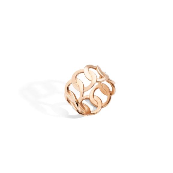 Pomellato Brera Ring aus 18 Karat Roségold