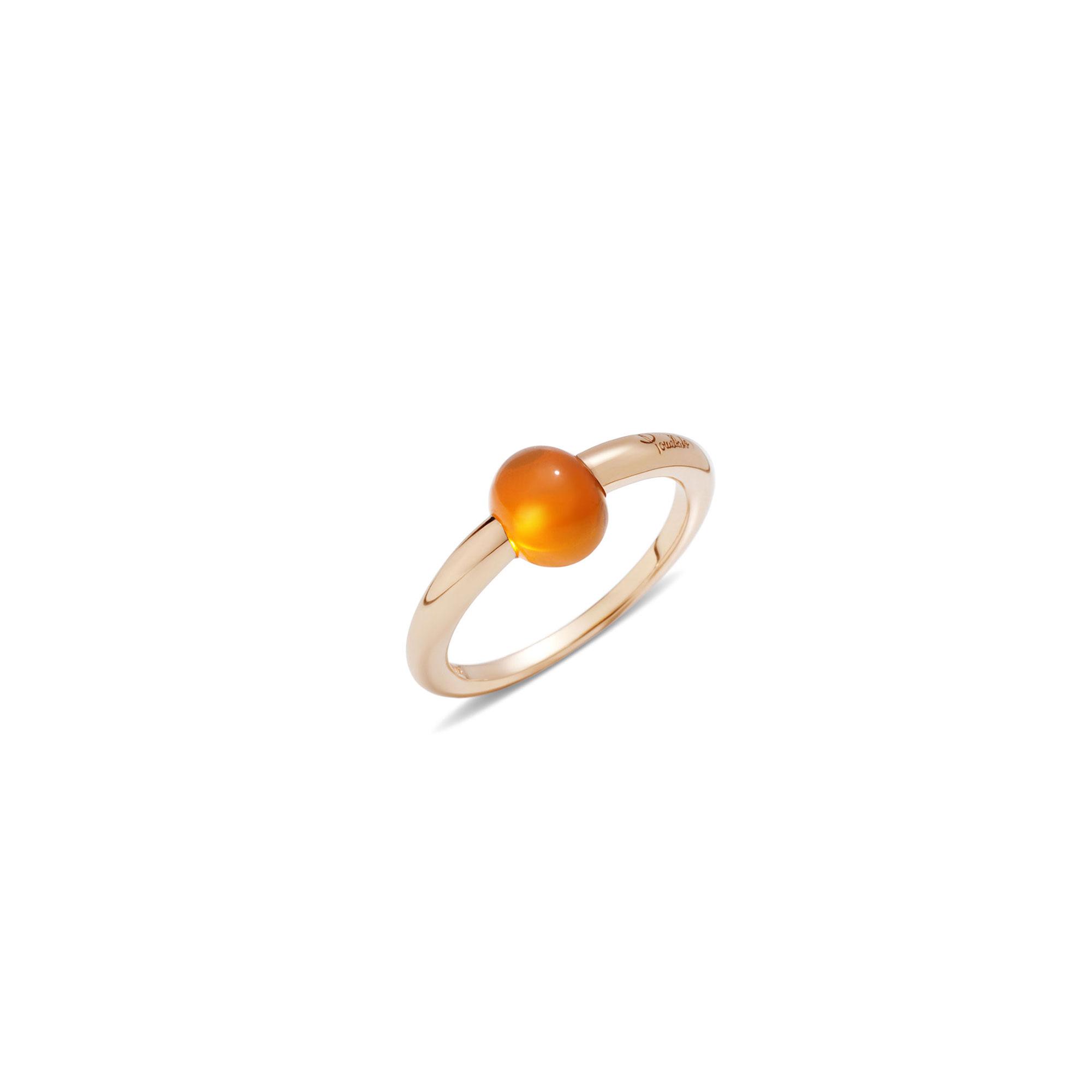 Pomellato M´ama non m´ama Ring aus Rosegold mit Granat