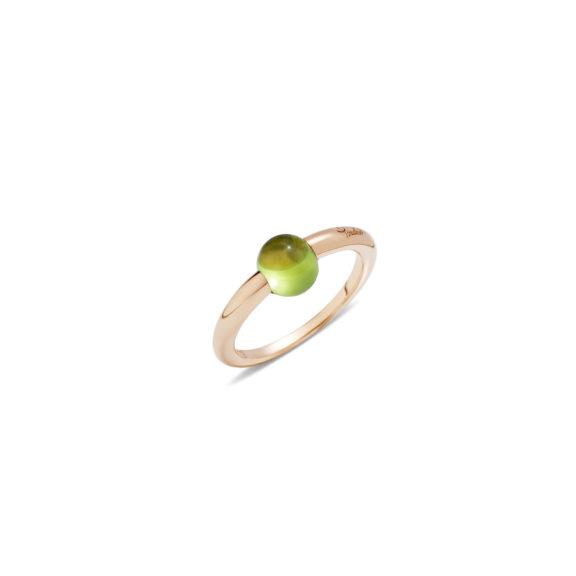Pomellato M´ama non m´ama Ring aus Rosegold mit Peridot