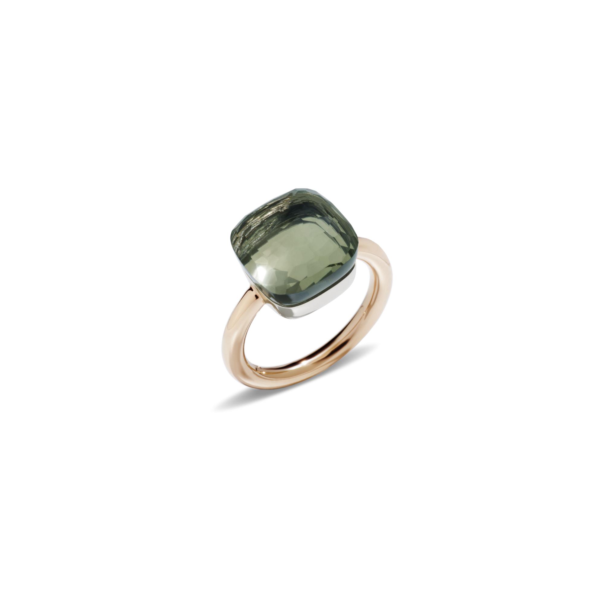 Pomellato Nudo Ring aus Roségold mit Prasiolith