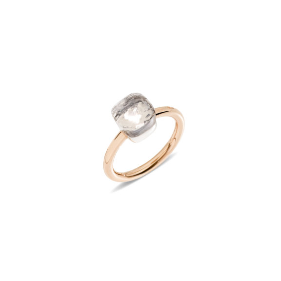 Pomellato Nudo Ring aus Roségold mit Topas