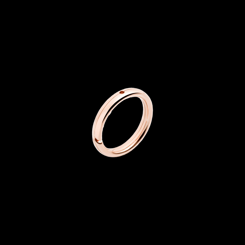 Dodo Ring aus 9 Karat Roségold