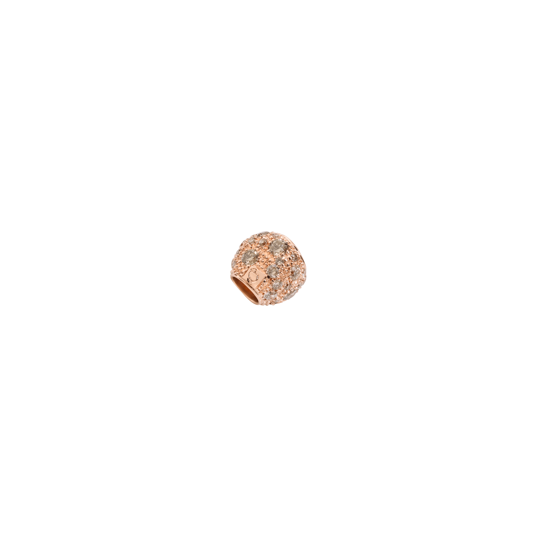 Dodo Pepita aus 9 Karat Roségold mit Diamanten