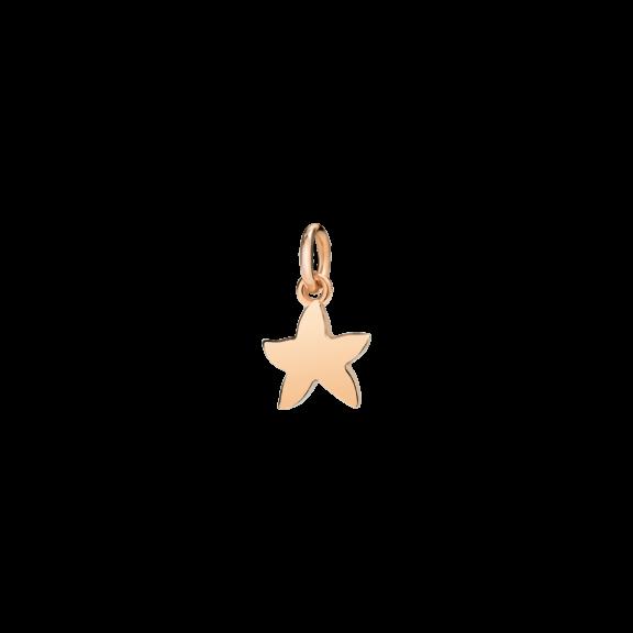 Dodo Anhänger Stern aus 9 Karat Roségold