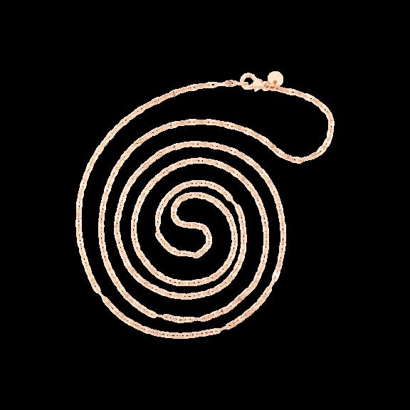 Dodo Collier aus 9 Karat Roségold