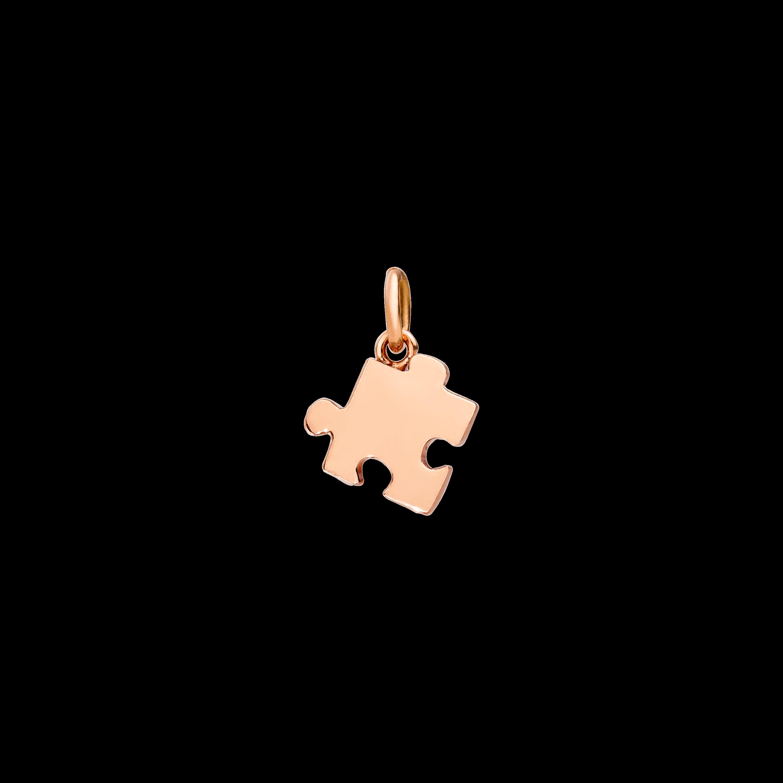 Dodo Anhänger Puzzle aus 9 Karat Roségold