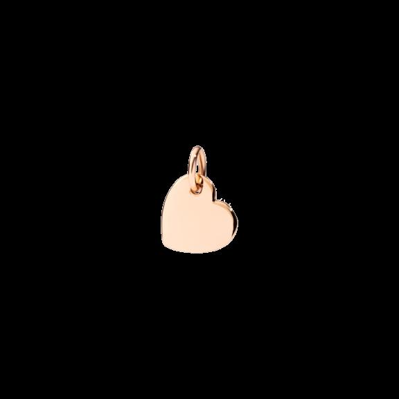 Dodo Anhänger Herz aus 9 Karat Roségold