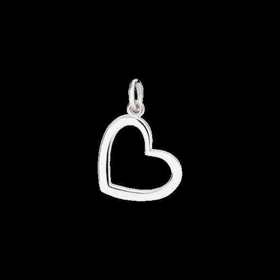 Dodo Anhänger Herz aus Silber