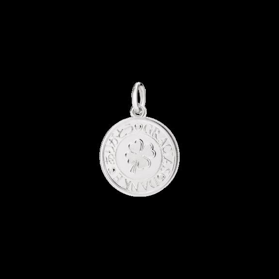Dodo Anhänger Münze aus Silber