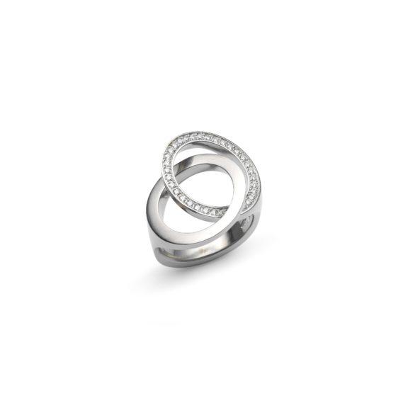 Ring aus 18 Karat Weißgold mit Brillanten