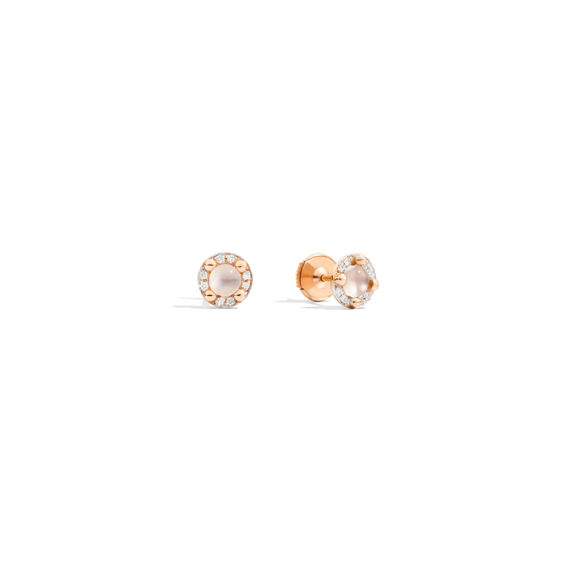 Pomellato M´ama non m´ama Ohrschmuck aus Rosegold mit Diamanten