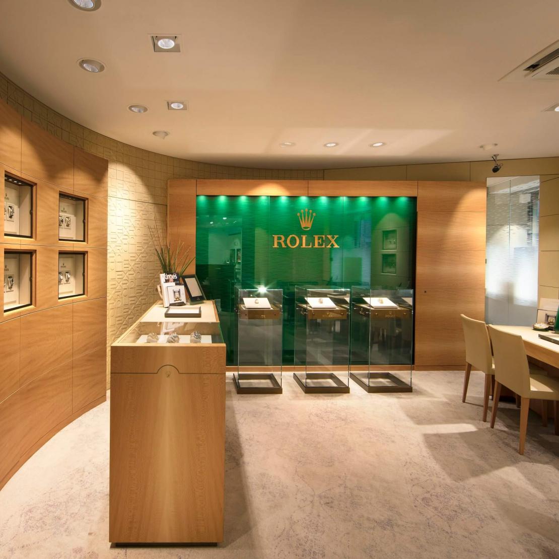 Rolex Boutique bei Juwelier S.M.Wild
