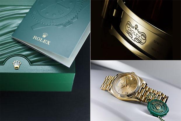 Collage Rolex Details