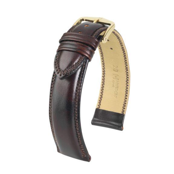 dunkelbraunes Uhrband aus Leder