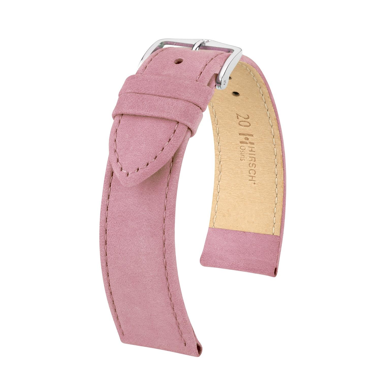 rosa Uhrband aus Leder