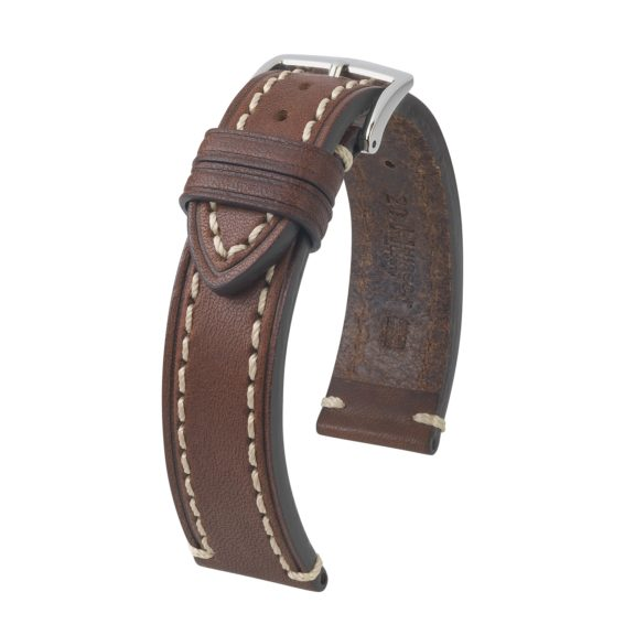 braunes Uhrband aus Leder