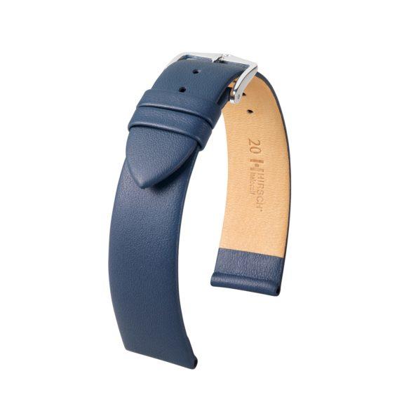 blaues Uhrband aus Leder
