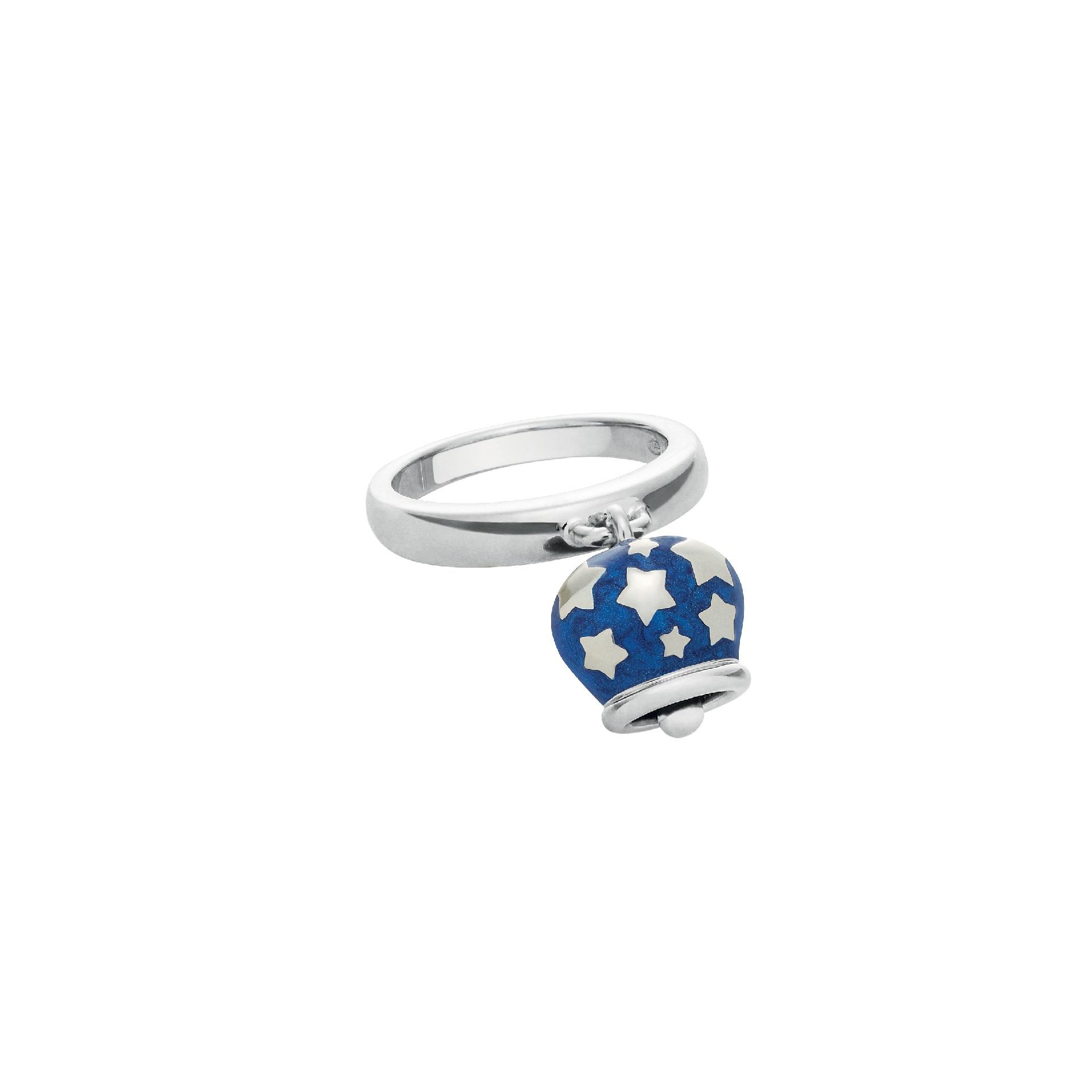 Chantecler Et voilà Ring aus Silber und blauem Emaille