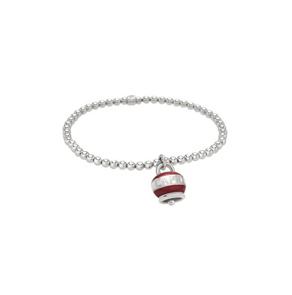 Chantecler Capriness Armband aus Silber und rotem Emaille