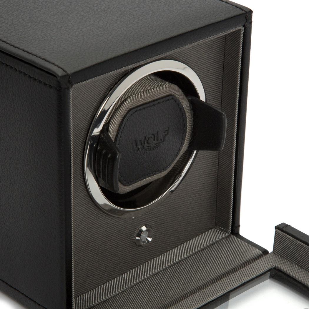 Uhrenbeweger Cub für ein Uhr in Schwarz