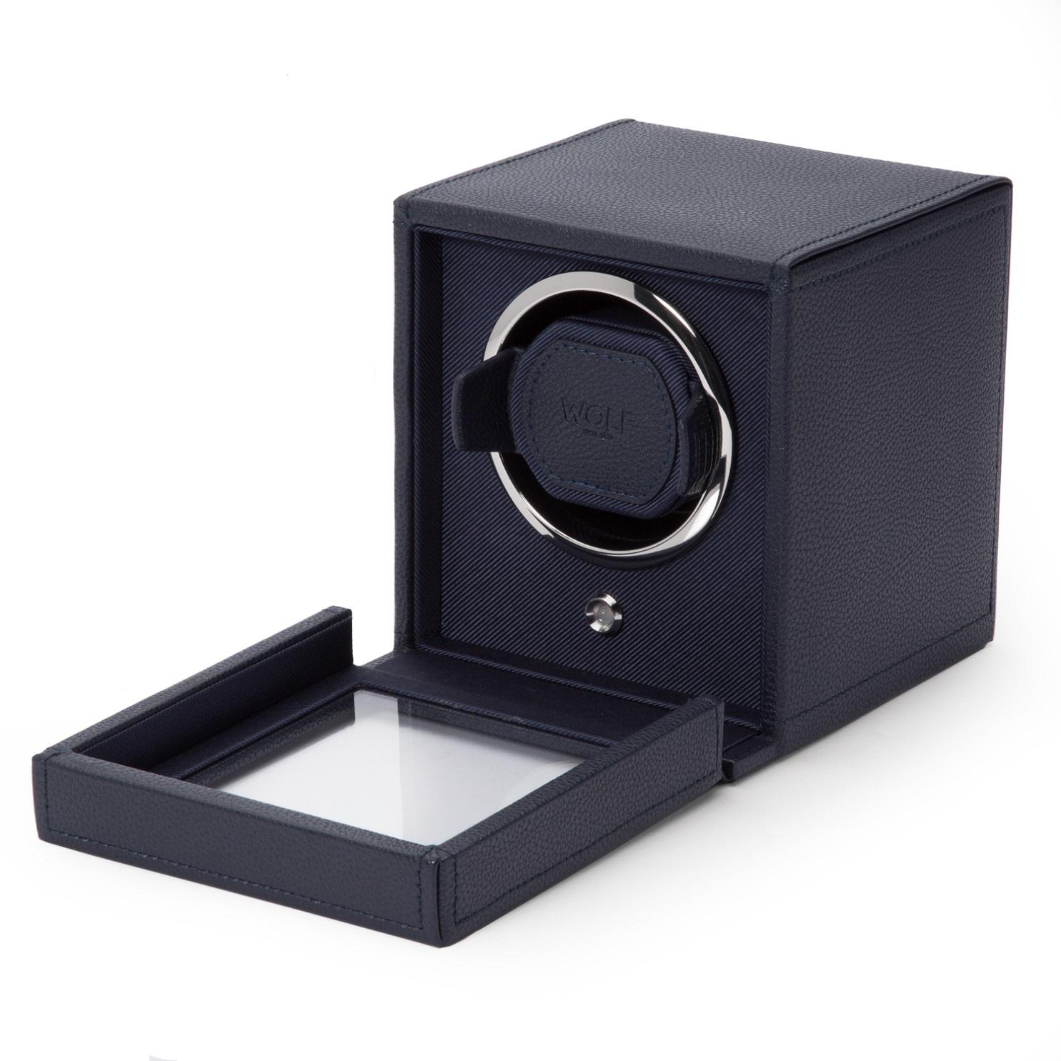 Uhrenbeweger Cub für eine Uhr in Blau