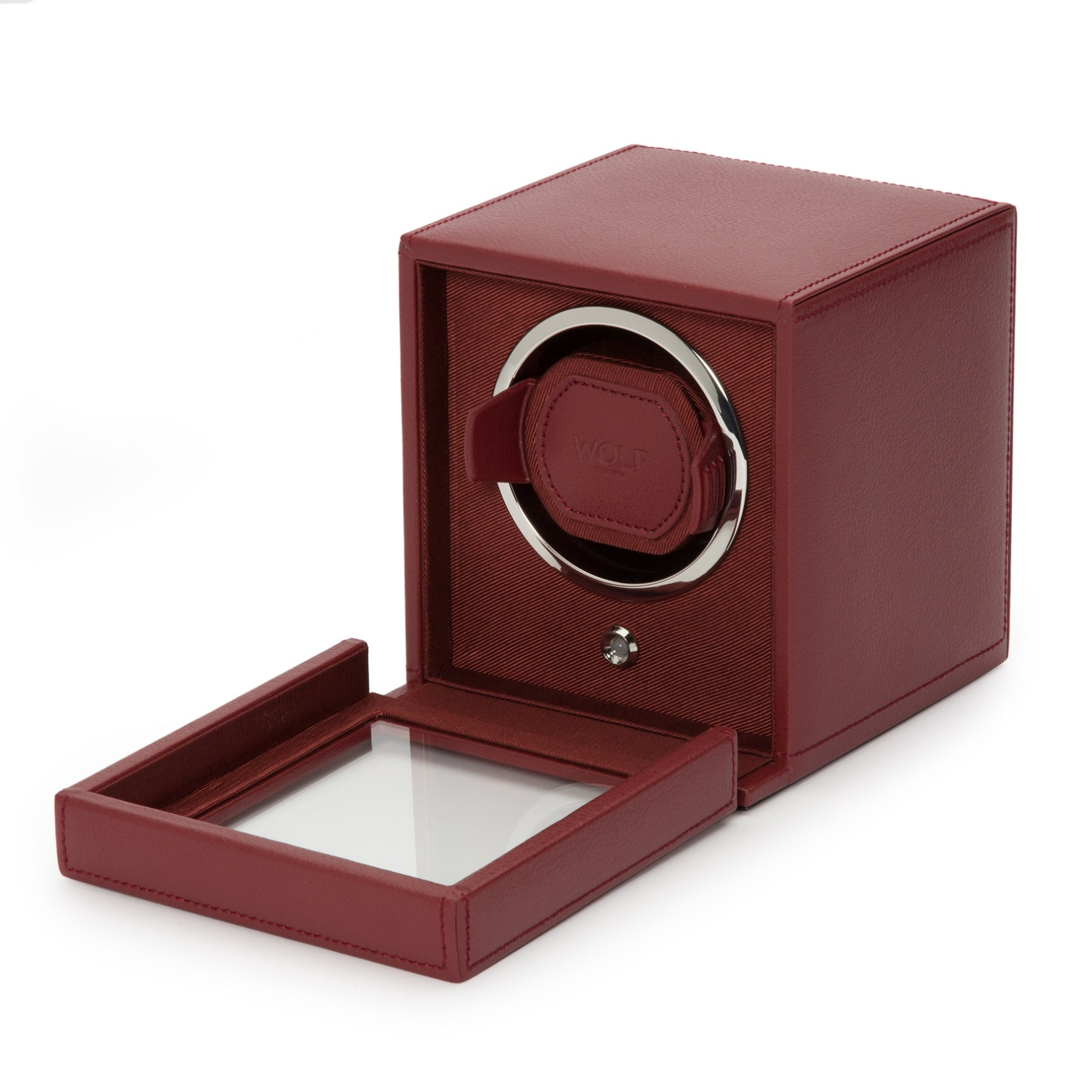 Uhrenbeweger Cub für eine Uhr in Rot