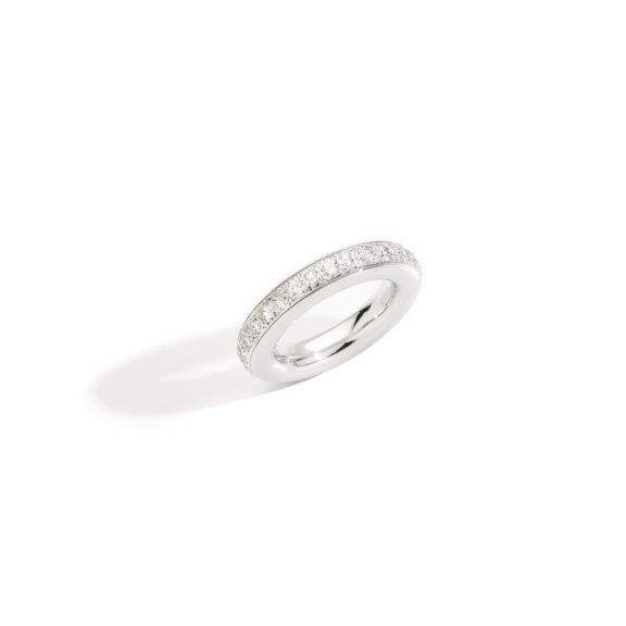 Pomellato Iconica Ring aus Weißgold mit Brillanten