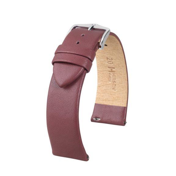 taupefarbenes Uhrband aus Leder