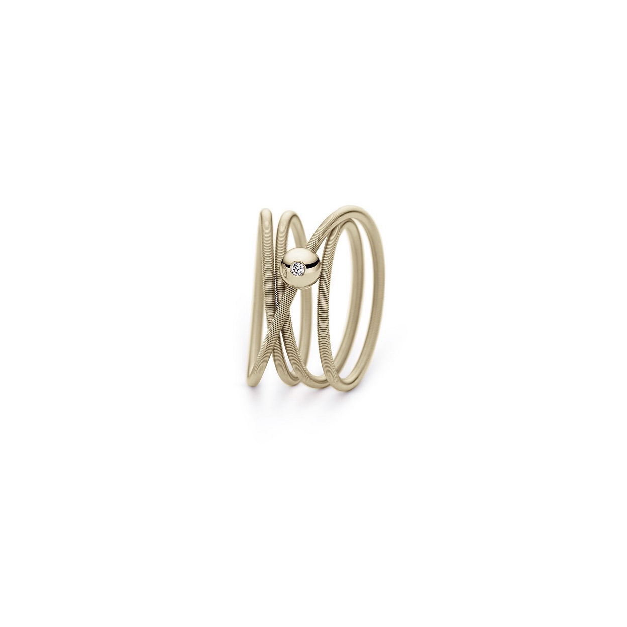Niessing Ring Colette aus Ivory Gold mit Brillant