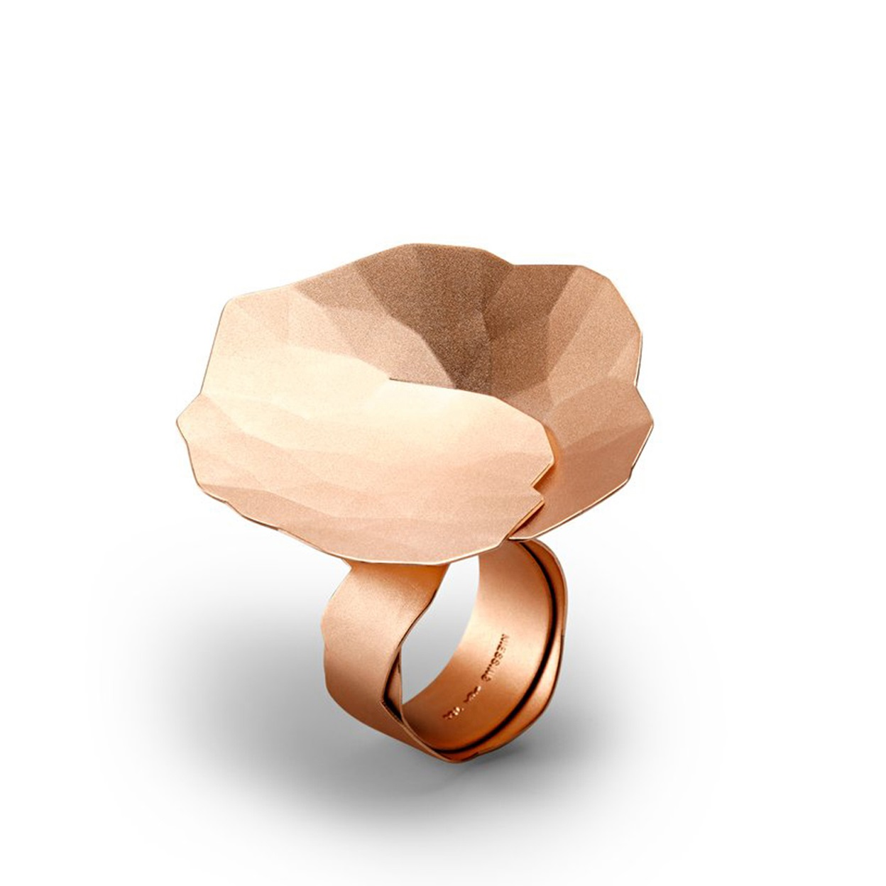 Niessing Ring Topia aus Classic Red Gold