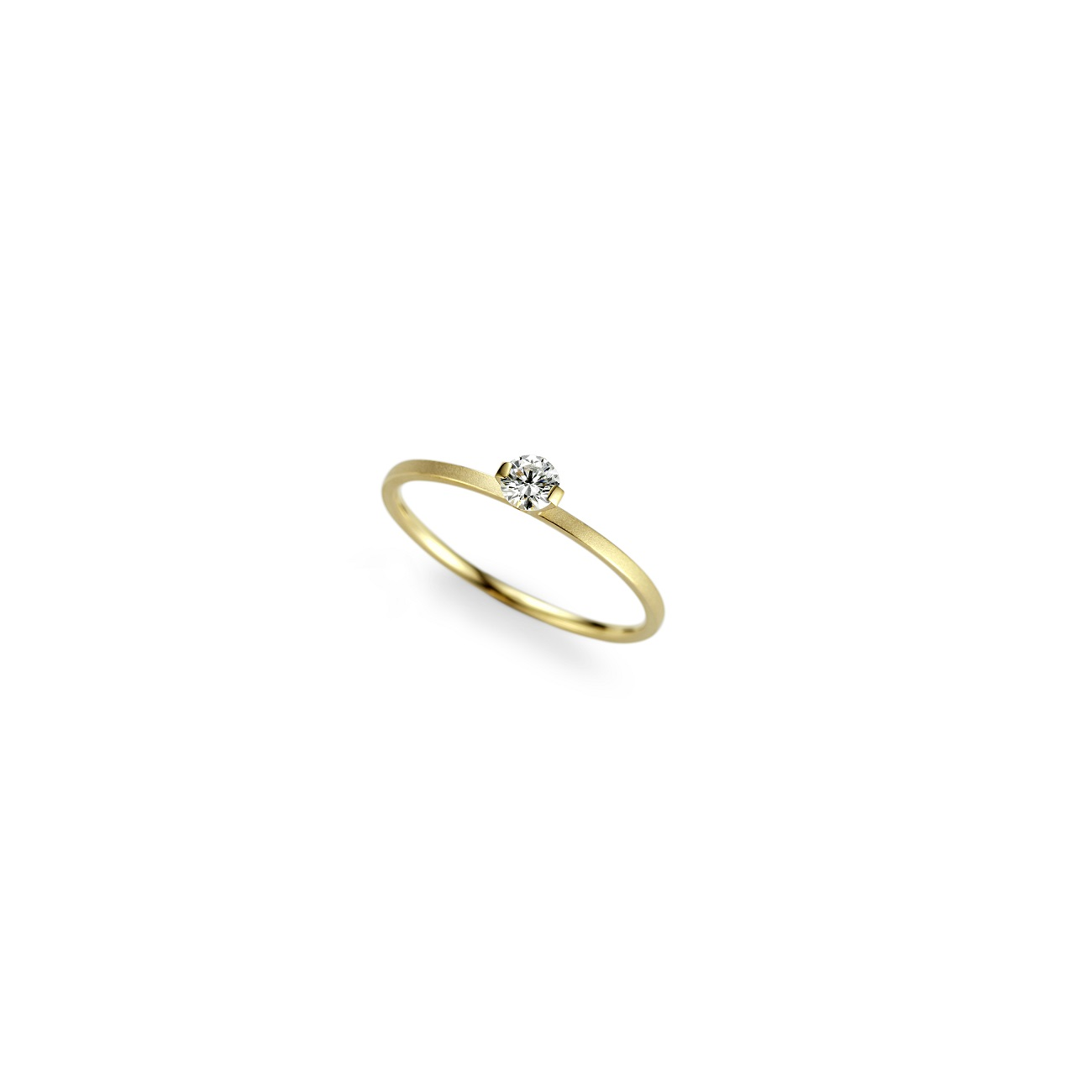 Niessing Ring Princess aus Classic Yellow Gold mit Brillant