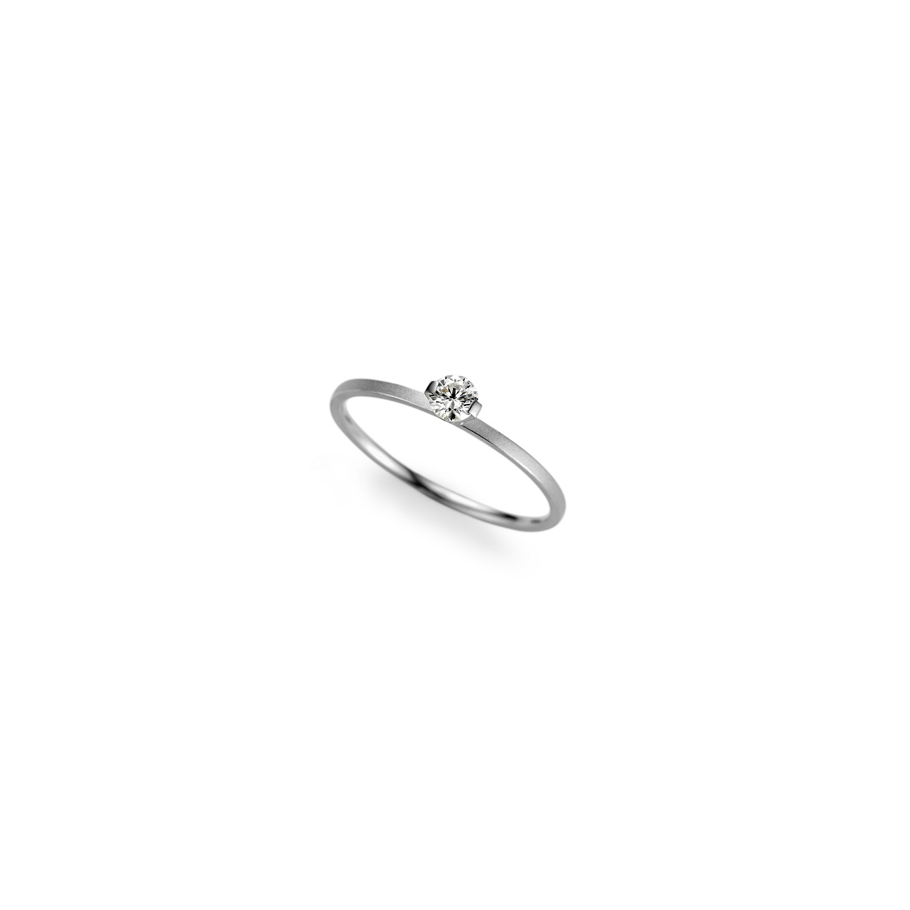 Niessing Ring Princess aus Platin mit Brillant