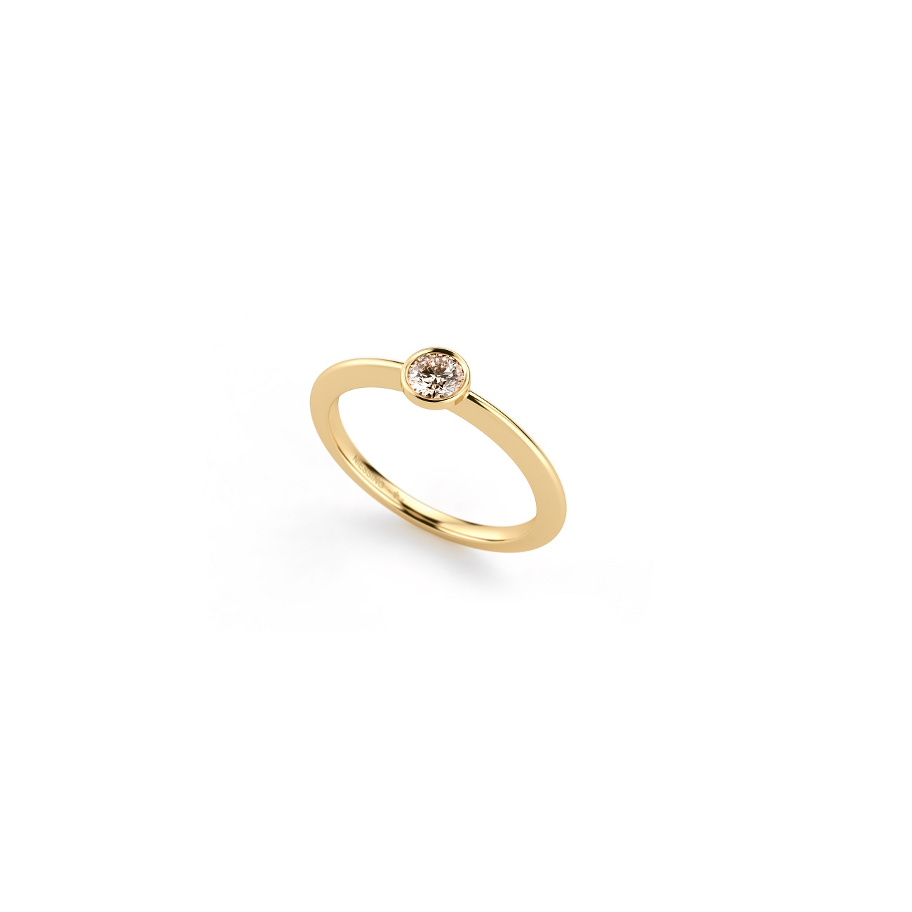 Niessing Ring Stella aus Classic Yellow Gold mit Brillant