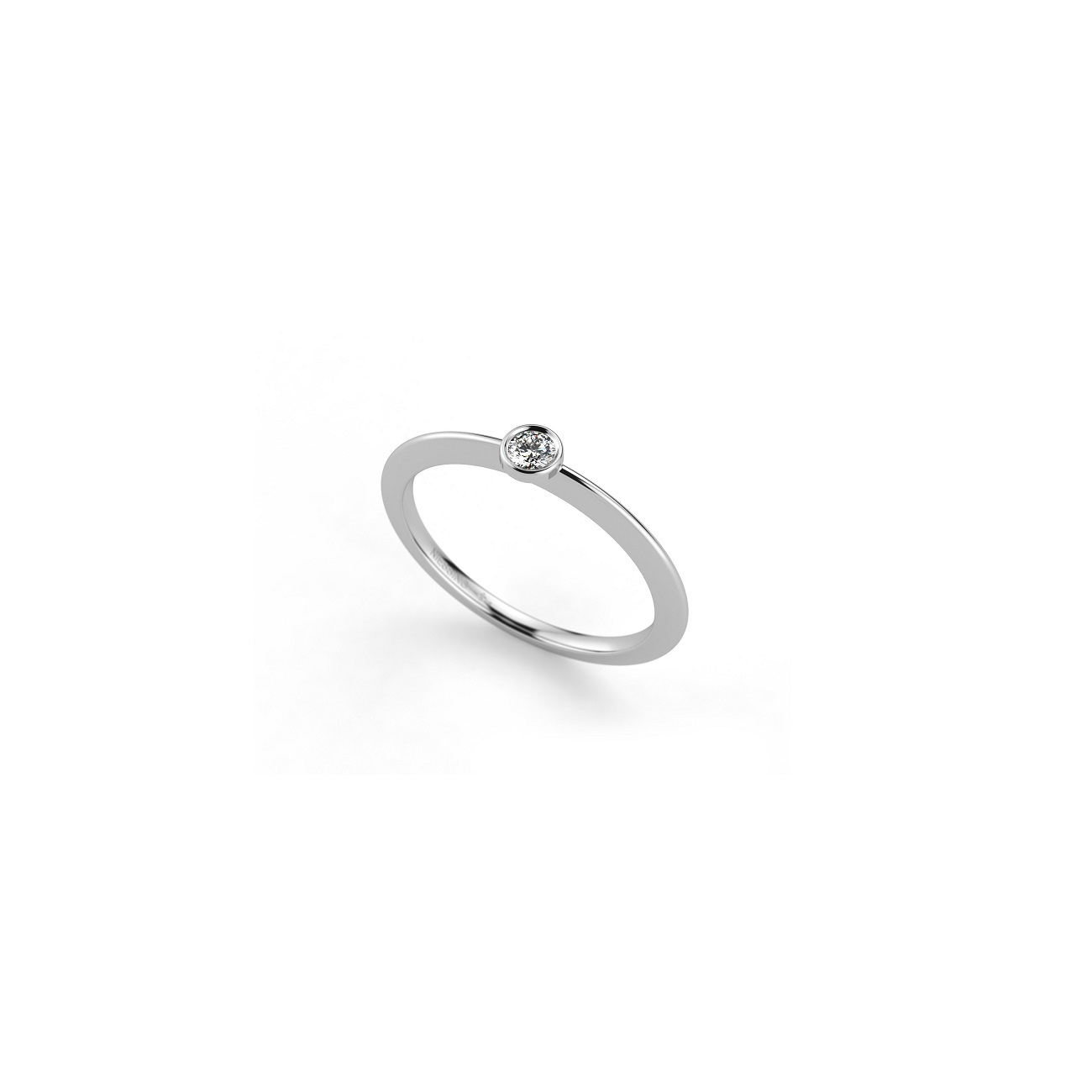 Niessing Ring Stella aus Platin mit Brillant